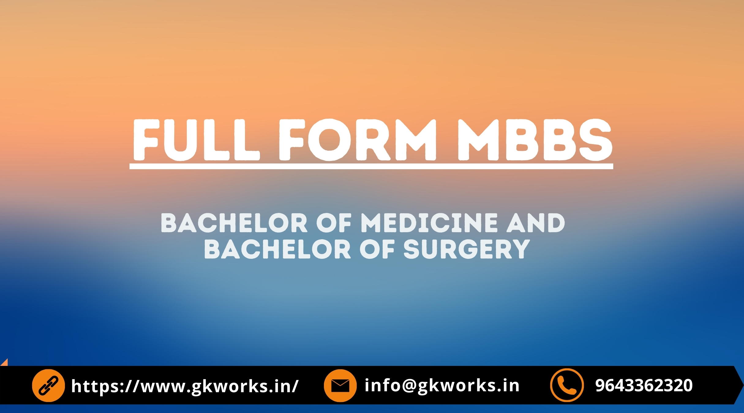 MBBS Full Form